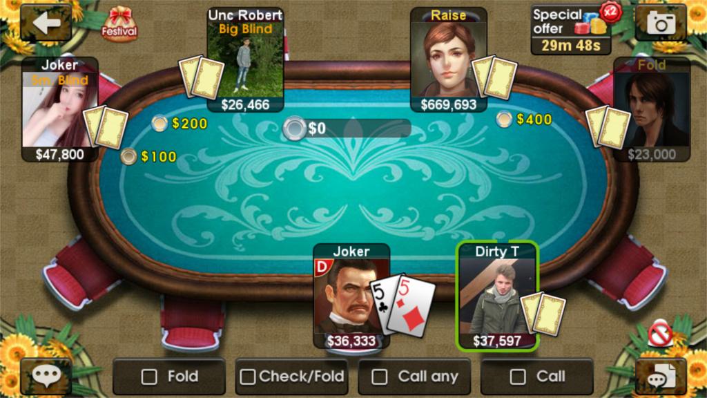 Judi DH Texas Poker - Texas Hold'em